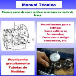 Manual retifica do motor fusca